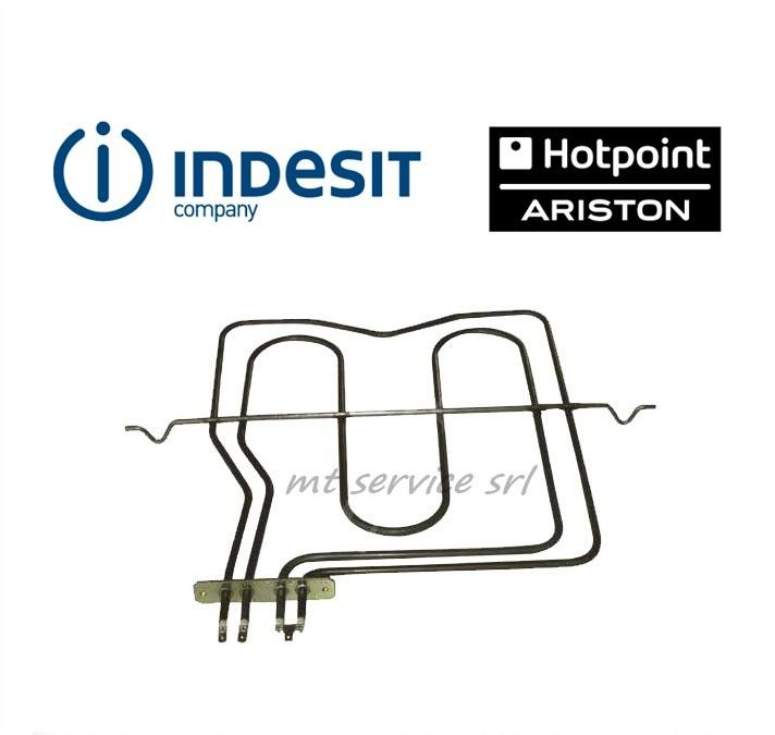 ARISTON INDESIT - RESISTENZA FORNO SUPERIORE 1000+1200 W - C00039574 ORIGINALE <br />