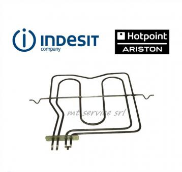 Ariston indesit - resistenza forno superiore 1000+1200 w - c00039574 originale