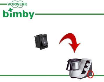 Pentola con manico per Vorwerk Bimby tm3300