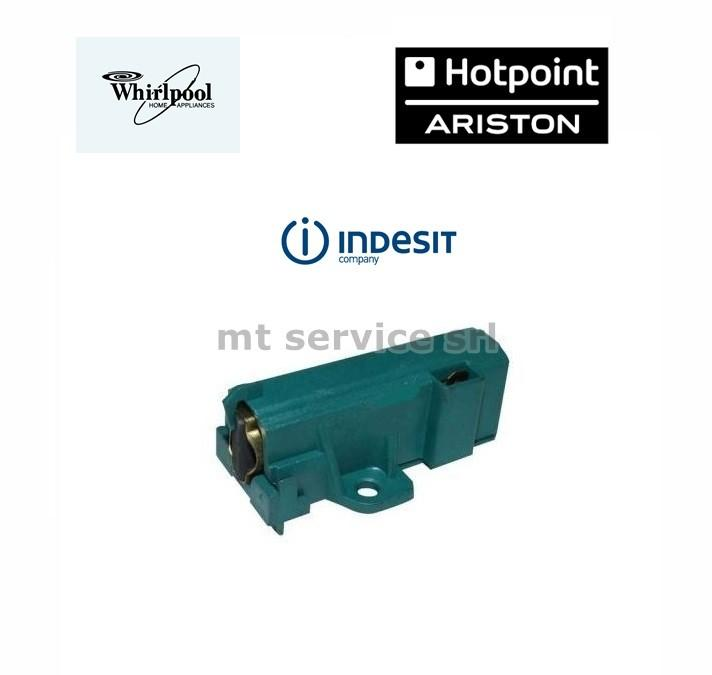 Spazzola motore sole cy it za  ariston indesit c00114895 whirlpool 481281719419 - 481281729603 4006020152