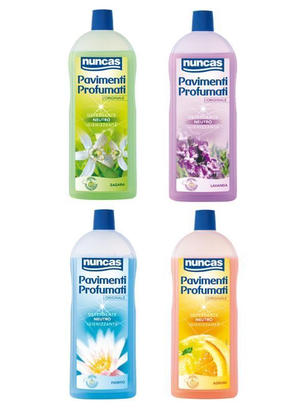 Nuncas Pavimenti profumati nuncas detergente pavimenti profumo lavanda 1 lt NU4000458 8001704105154