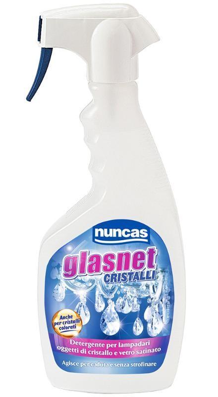Pulizia Lampadari Di Cristallo.Nuncas Glasnet Cristalli Chandelier Nuncas Detergente Per Lampadari E Cristallo Ml 500 Nu4000401 8001704007120