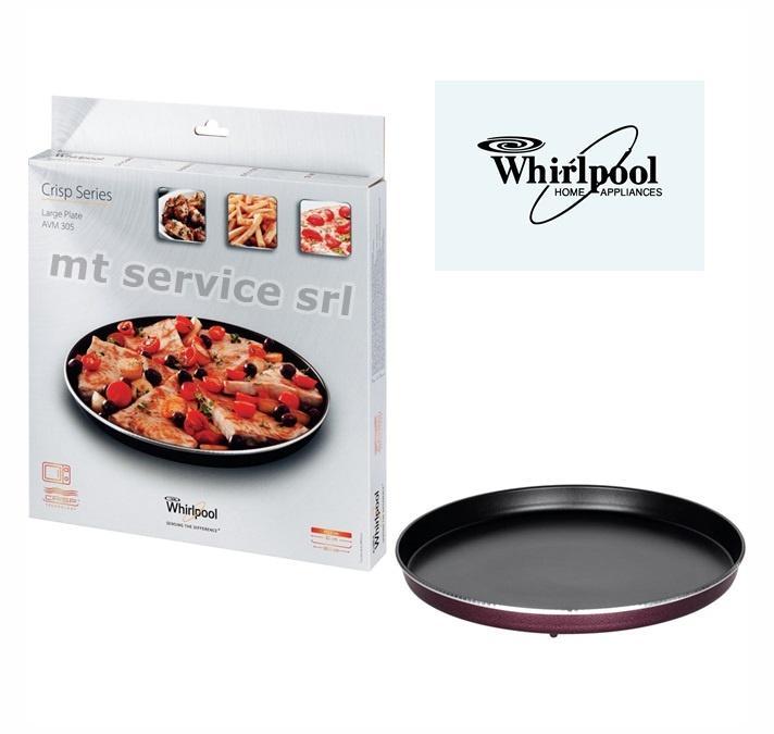 Whirlpool piatto crisp per forno a microonde avm305 30 5cm - Forno a microonde funzione crisp ...