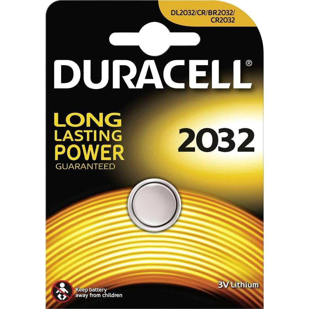 BATTERIA DURACELL BOTTONE LITIO 2032 - 3V-210mAh