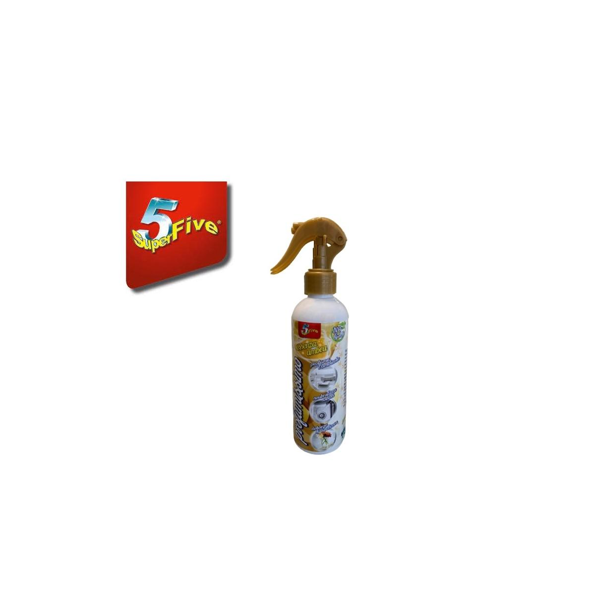 Profumissimo deo spray 750ml essenza ambra