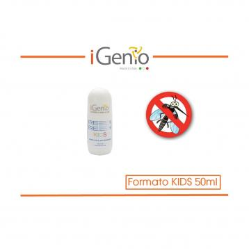 REPELLENTE PER ZANZARE ROLL-ON formato KIDS - Flacone da 50ml - Citriodiol 5%